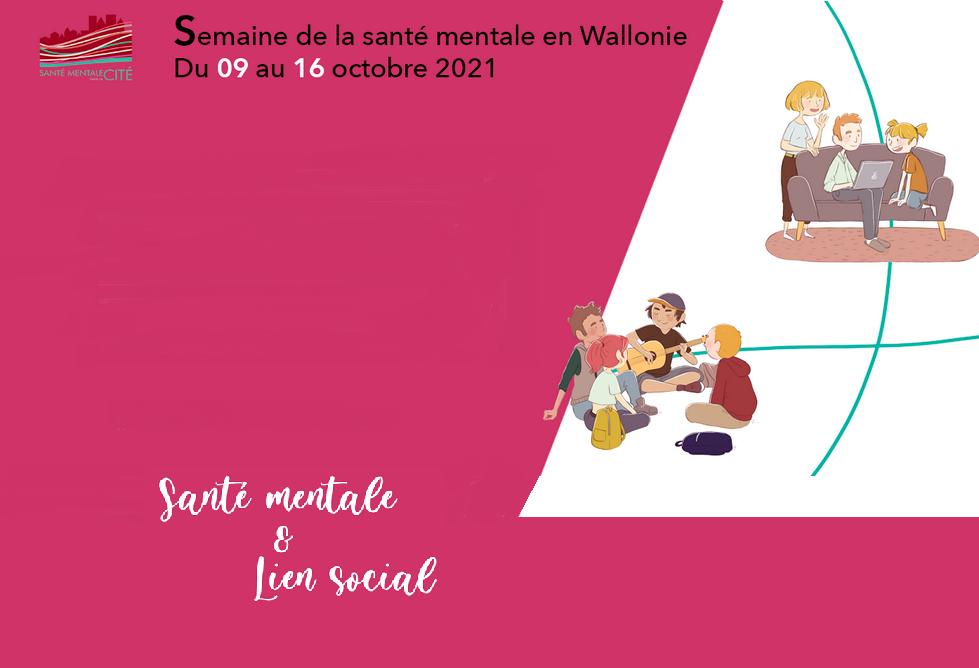 Semaine de la santé mentale en Wallonie - Save the date !